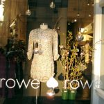 A beautiful blue scarf and beaded necklace from Rowe