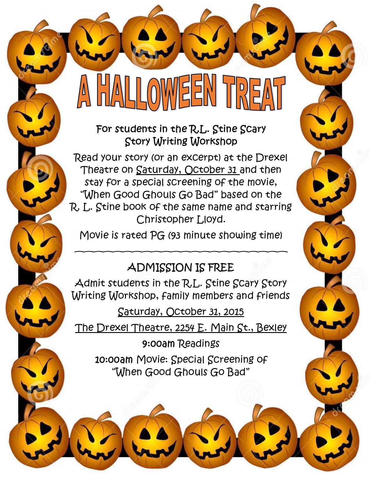 a halloween treat - bexley education foundation