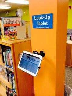 OPAC tablet